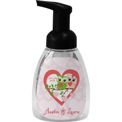 Valentine Owls Foam Soap Dispenser (Personalized)