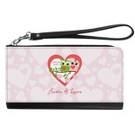 Valentine Owls Genuine Leather Smartphone Wrist Wallet (Personalized)