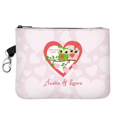 Valentine Owls Golf Accessories Bag (Personalized)