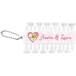 Valentine Owls Golf Tees & Ball Markers Set (Personalized)