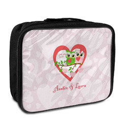 Valentine Owls Insulated Lunch Bag (Personalized)