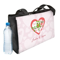 Valentine Owls Ladies Workout Bag (Personalized)