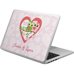 Valentine Owls Laptop Skin - Custom Sized (Personalized)