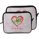 Valentine Owls Laptop Sleeve / Case (Personalized)