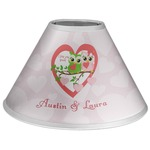 Valentine Owls Coolie Lamp Shade (Personalized)
