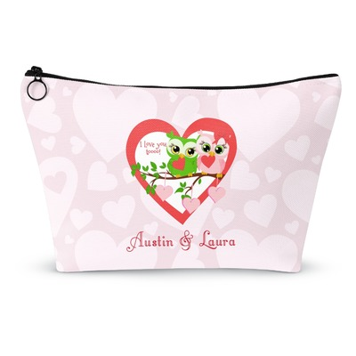 Valentine Owls Makeup Bags (Personalized)