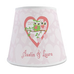 Valentine Owls Empire Lamp Shade (Personalized)