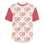 Valentine Owls Men's Crew T-Shirt (Personalized)
