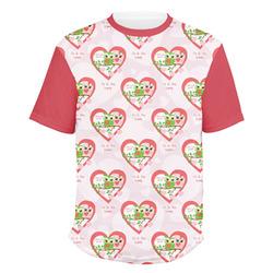 Valentine Owls Men's Crew T-Shirt (Personalized)