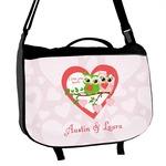 Valentine Owls Messenger Bag (Personalized)