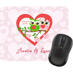 Valentine Owls Mouse Pad (Personalized)