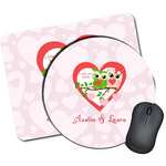 Valentine Owls Mouse Pads (Personalized)
