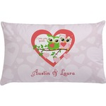 Valentine Owls Pillow Case (Personalized)