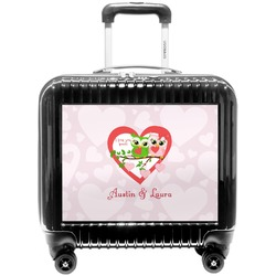 Valentine Owls Pilot / Flight Suitcase (Personalized)