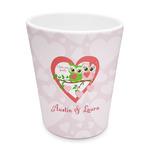 Valentine Owls Plastic Tumbler 6oz (Personalized)