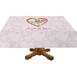 Valentine Owls Tablecloth (Personalized)