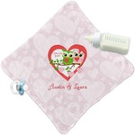 Valentine Owls Security Blanket (Personalized)