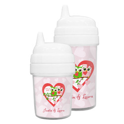 Valentine Owls Sippy Cup (Personalized)
