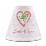 Valentine Owls Chandelier Lamp Shade (Personalized)
