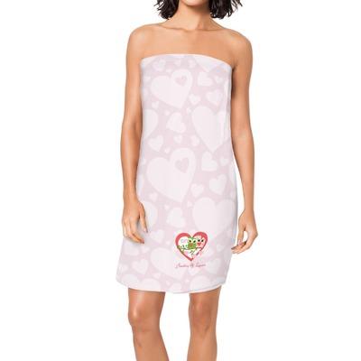 Valentine Owls Spa / Bath Wrap (Personalized)