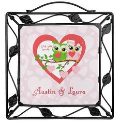 Valentine Owls Trivet (Personalized)