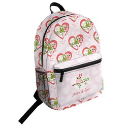 Valentine Owls Student Backpack (Personalized)