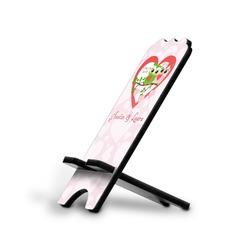 Valentine Owls Stylized Phone Stand (Personalized)