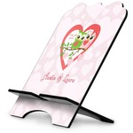 Valentine Owls Stylized Tablet Stand (Personalized)