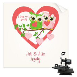 Valentine Owls Sublimation Transfer (Personalized)