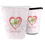 Valentine Owls Waste Basket (Personalized)