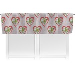 Valentine Owls Valance (Personalized)