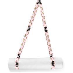 Valentine Owls Yoga Mat Strap (Personalized)