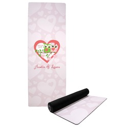 Valentine Owls Yoga Mat (Personalized)