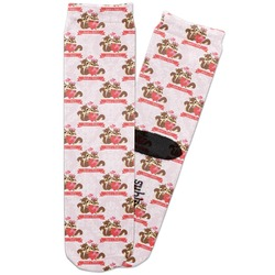 Chipmunk Couple Adult Crew Socks (Personalized)