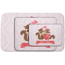 Chipmunk Couple Area Rug (Personalized)