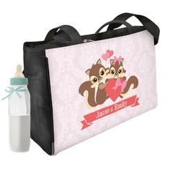 Chipmunk Couple Diaper Bag (Personalized)