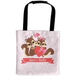 Chipmunk Couple Auto Back Seat Organizer Bag (Personalized)