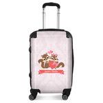 Chipmunk Couple Suitcase (Personalized)