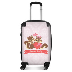 Chipmunk Couple Suitcase (Personalized)