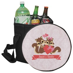 Chipmunk Couple Collapsible Cooler & Seat (Personalized)