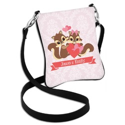 Chipmunk Couple Cross Body Bag - 2 Sizes (Personalized)