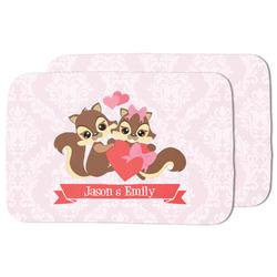 Chipmunk Couple Dish Drying Mat (Personalized)