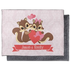 Chipmunk Couple Microfiber Screen Cleaner (Personalized)