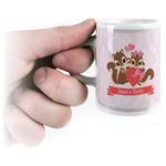 Chipmunk Couple Espresso Cups (Personalized)