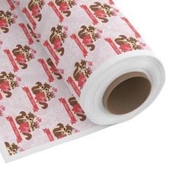 Chipmunk Couple Custom Fabric - Spun Polyester Poplin (Personalized)