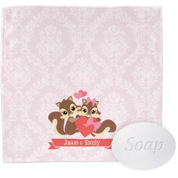 Chipmunk Couple Wash Cloth (Personalized)