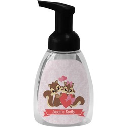 Chipmunk Couple Foam Soap Dispenser (Personalized)