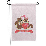 Chipmunk Couple Garden Flag - Single or Double Sided (Personalized)