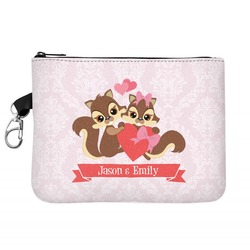 Chipmunk Couple Golf Accessories Bag (Personalized)