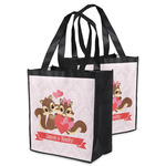 Chipmunk Couple Grocery Bag (Personalized)